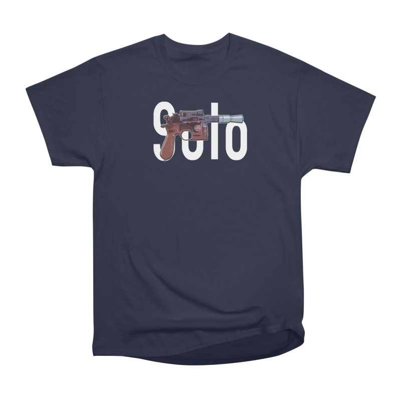 Solo Blaster Women's T-Shirt by HIDENbehindAroc's Shop