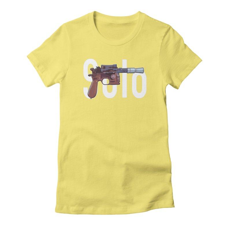 Solo Blaster Women's T-Shirt by HIDENbehindAroc's Shop