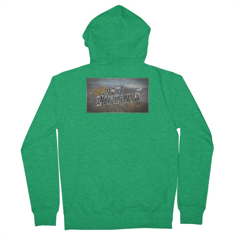 Greetings for Fallout West VA Women's Zip-Up Hoody by HIDENbehindAroc's Shop
