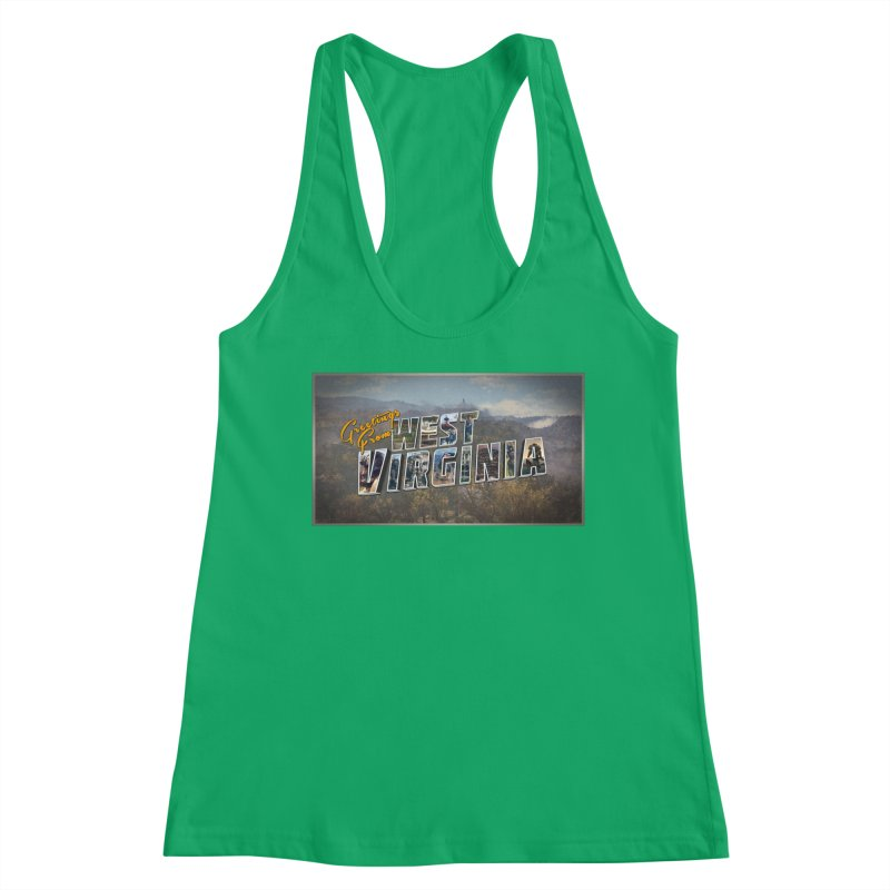 Greetings for Fallout West VA Women's Tank by HIDENbehindAroc's Shop