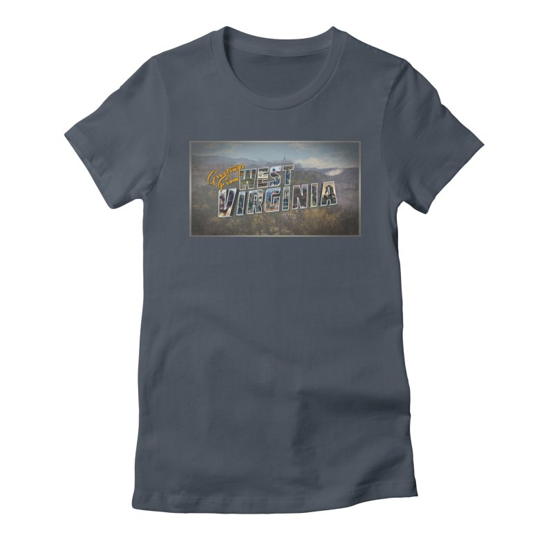Greetings for Fallout West VA Women's T-Shirt by HIDENbehindAroc's Shop