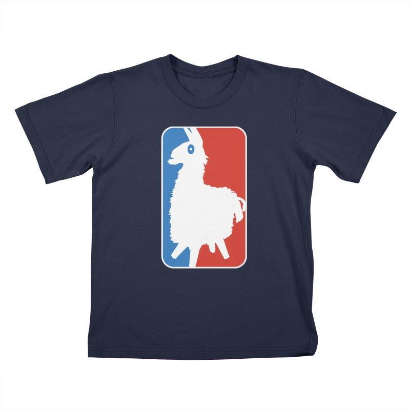 LLAMANITE 2 Kids T-Shirt by HIDENbehindAroc's Shop