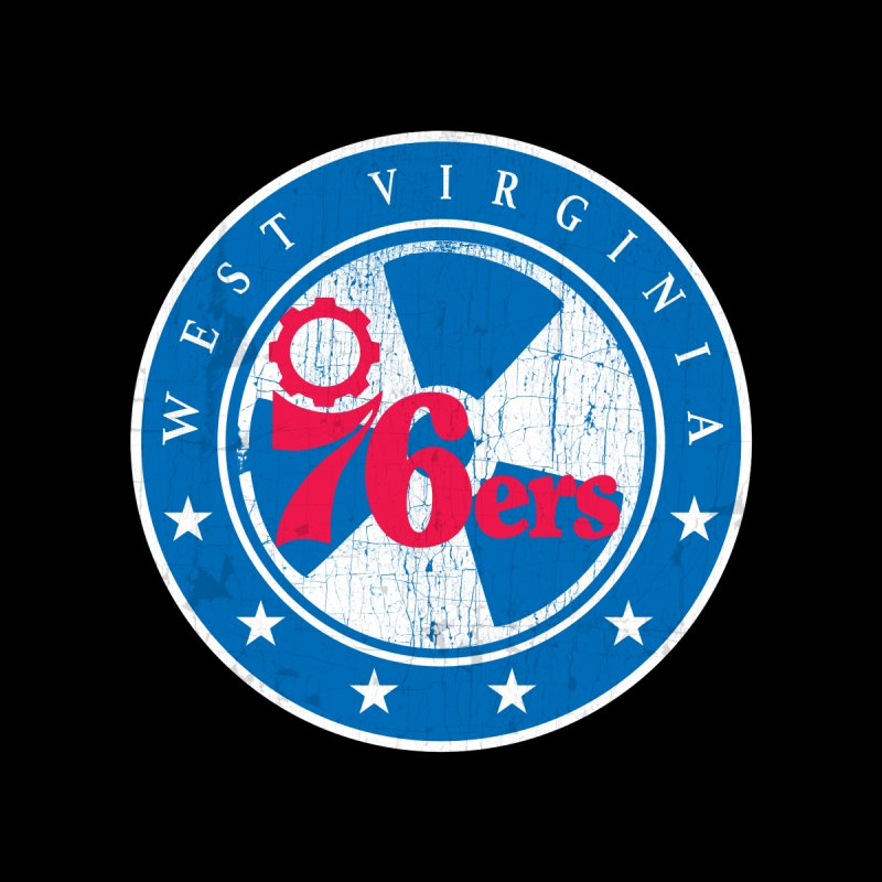 West Virginia 76ers Accessories Sticker by HIDENbehindAroc's Shop