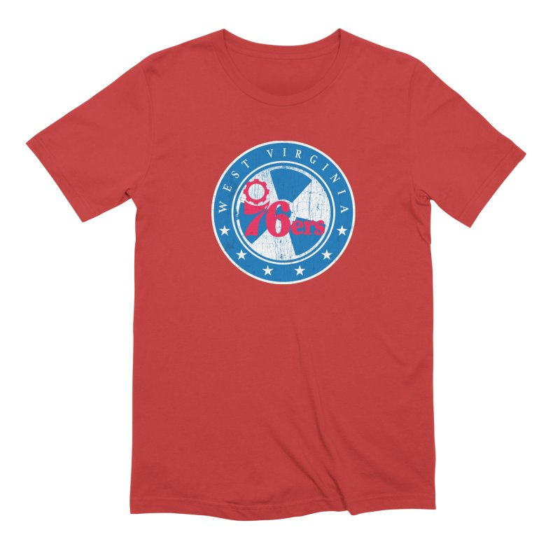 West Virginia 76ers Men's T-Shirt by HIDENbehindAroc's Shop