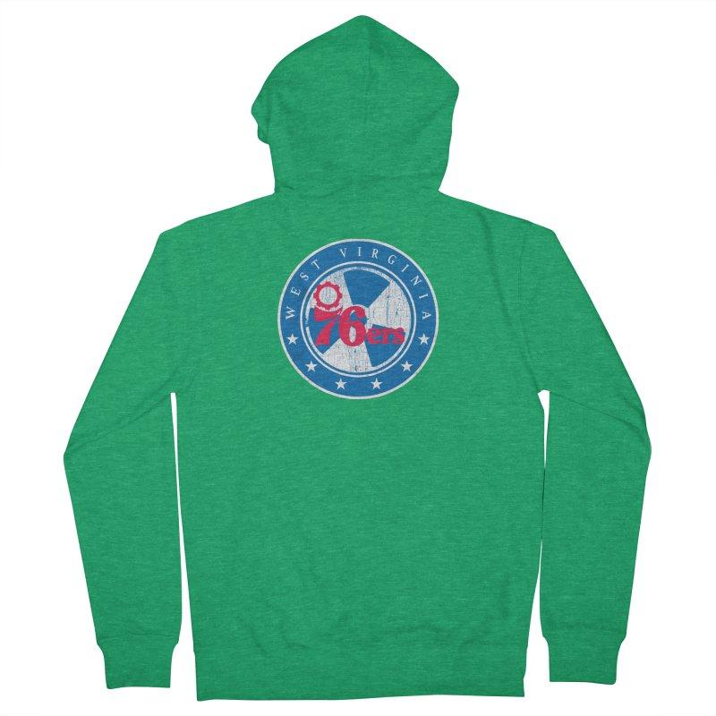 West Virginia 76ers Women's Zip-Up Hoody by HIDENbehindAroc's Shop