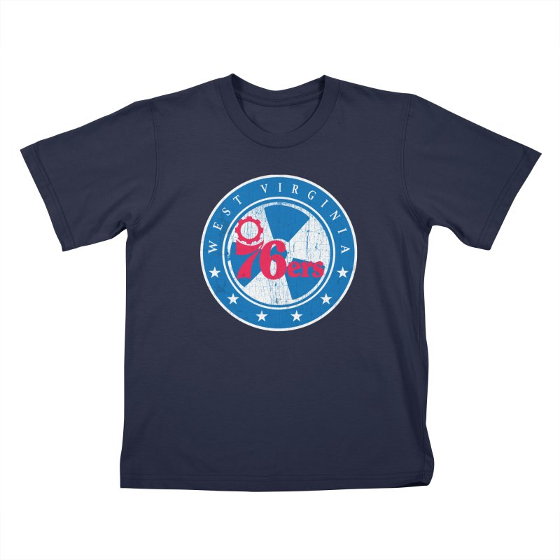 West Virginia 76ers Kids T-Shirt by HIDENbehindAroc's Shop