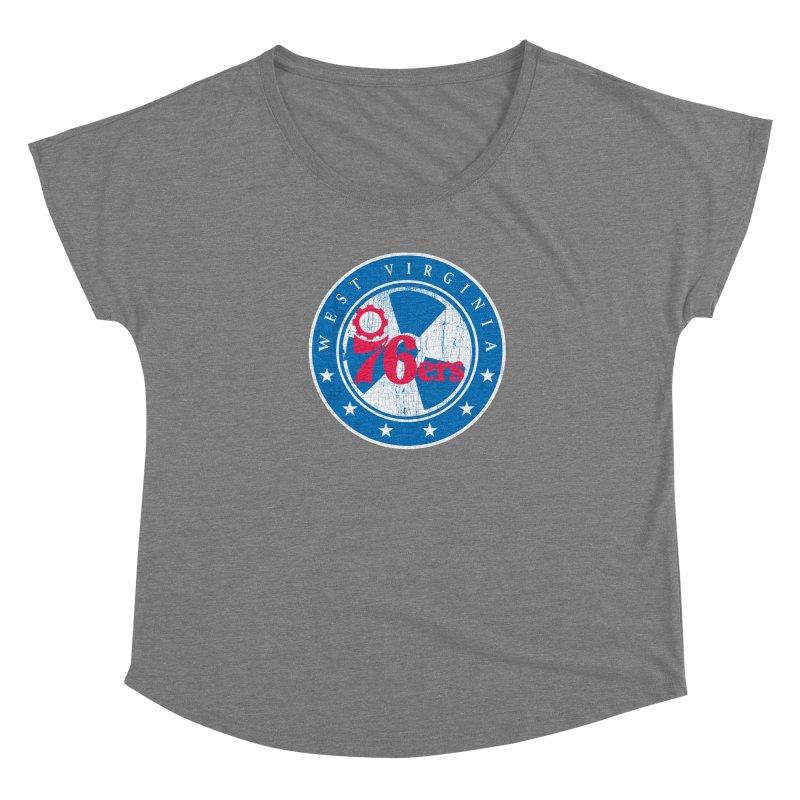 West Virginia 76ers Women's Scoop Neck by HIDENbehindAroc's Shop