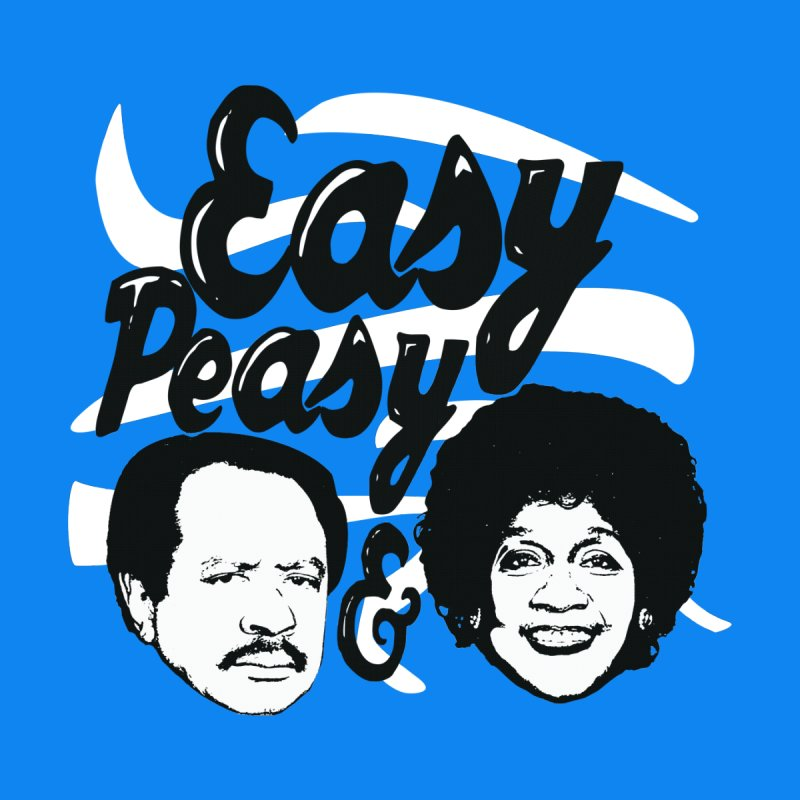 Easy Peasy George and Weezy Women's V-Neck by HIDENbehindAroc's Shop