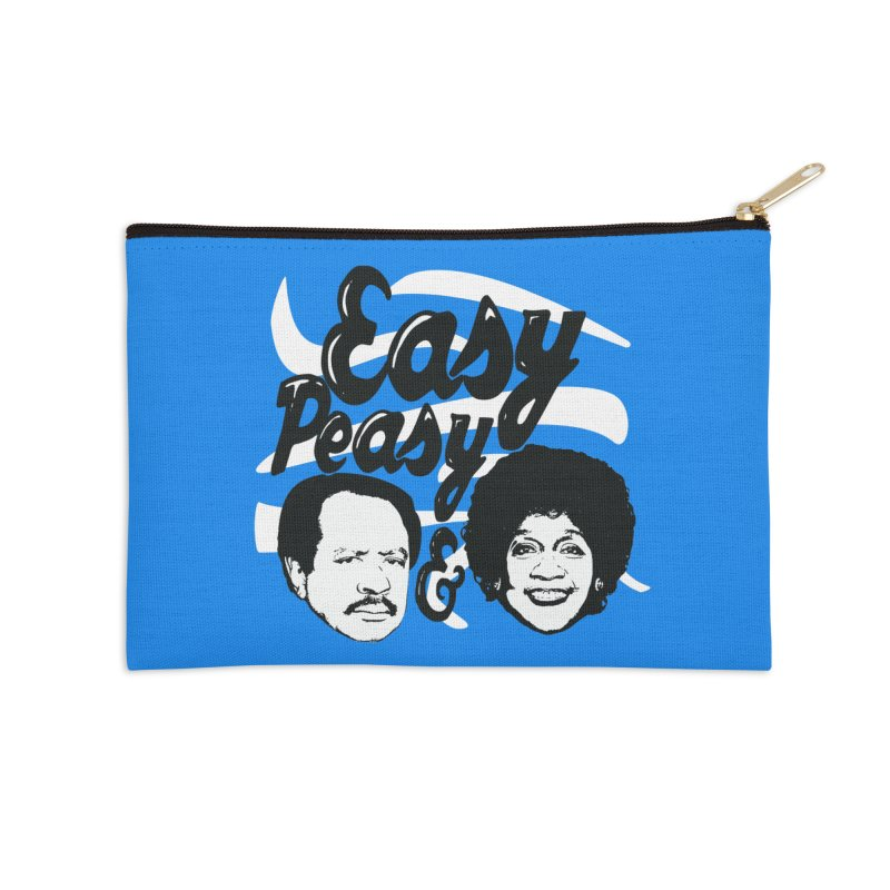 Easy Peasy George and Weezy Accessories Zip Pouch by HIDENbehindAroc's Shop