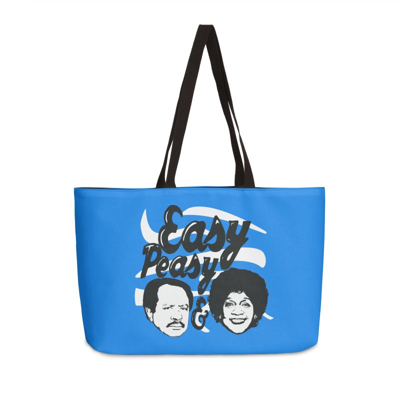 Easy Peasy George and Weezy Accessories Bag by HIDENbehindAroc's Shop