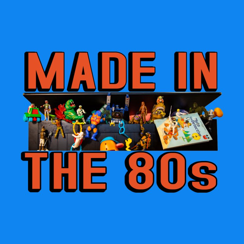Made in the 80s! Home Framed Fine Art Print by HIDENbehindAroc's Shop