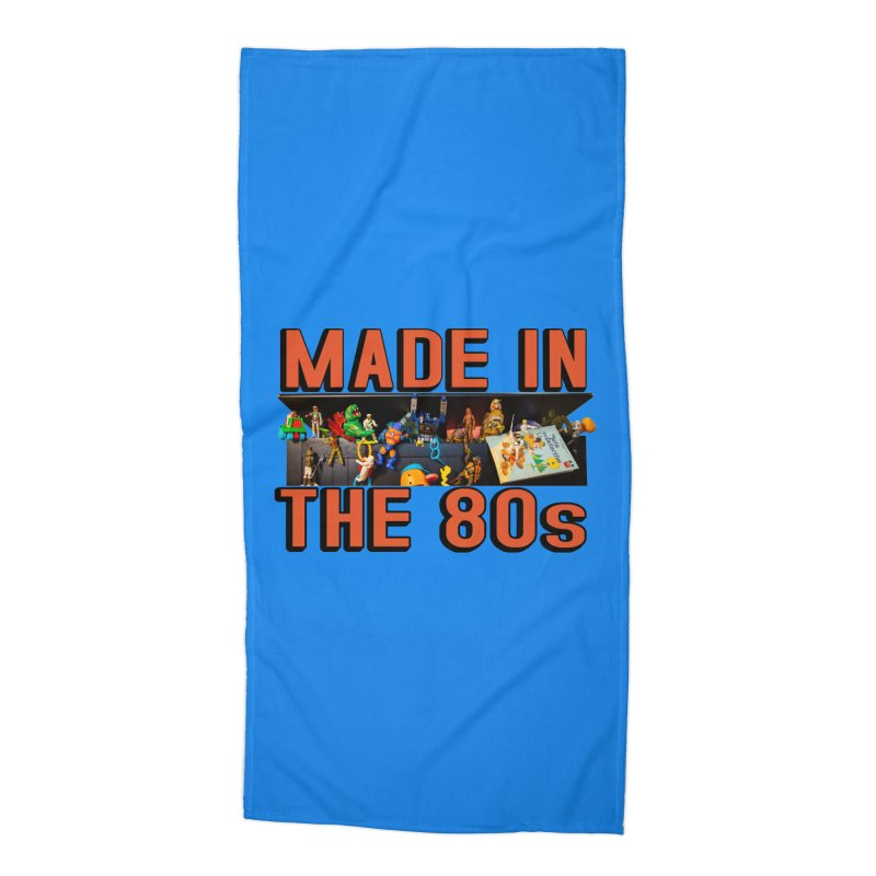 Made in the 80s! Accessories Beach Towel by HIDENbehindAroc's Shop