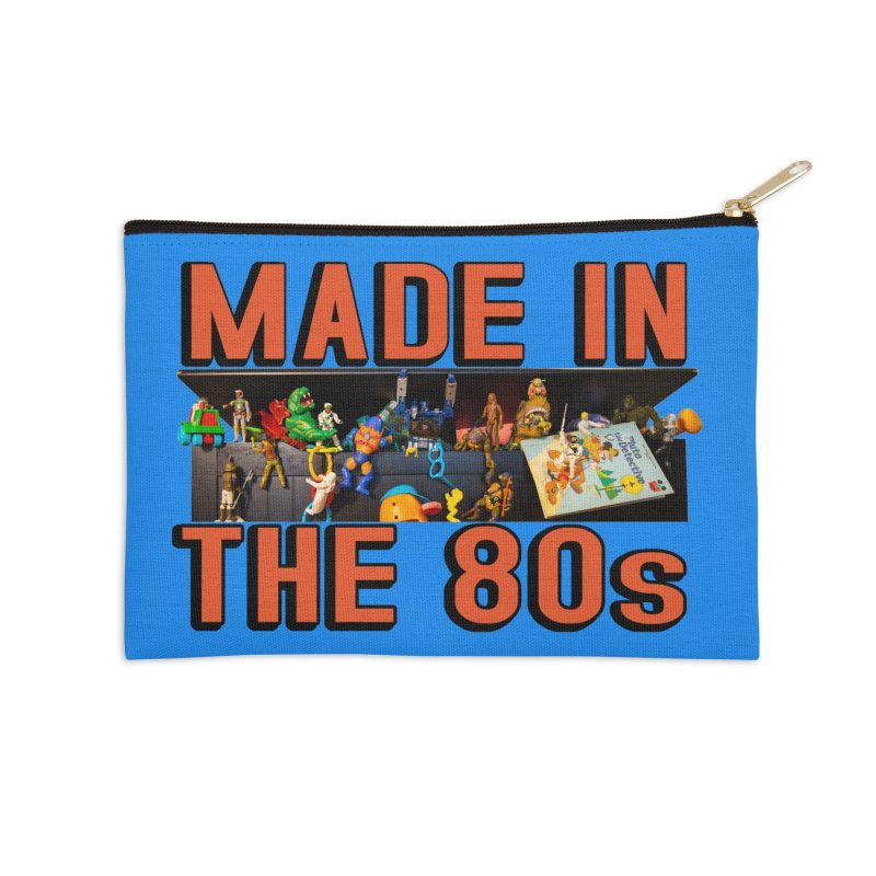 Made in the 80s! Accessories Zip Pouch by HIDENbehindAroc's Shop