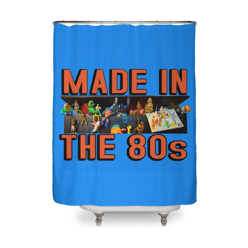 Made in the 80s! Home Shower Curtain by HIDENbehindAroc's Shop