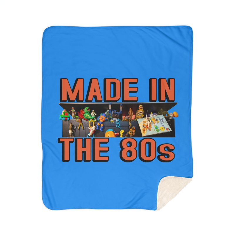 Made in the 80s! Home Blanket by HIDENbehindAroc's Shop
