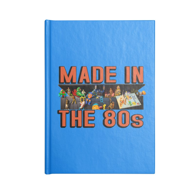 Made in the 80s! Accessories Notebook by HIDENbehindAroc's Shop