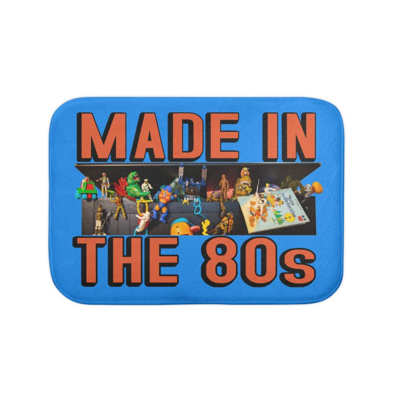 Made in the 80s! Home Bath Mat by HIDENbehindAroc's Shop