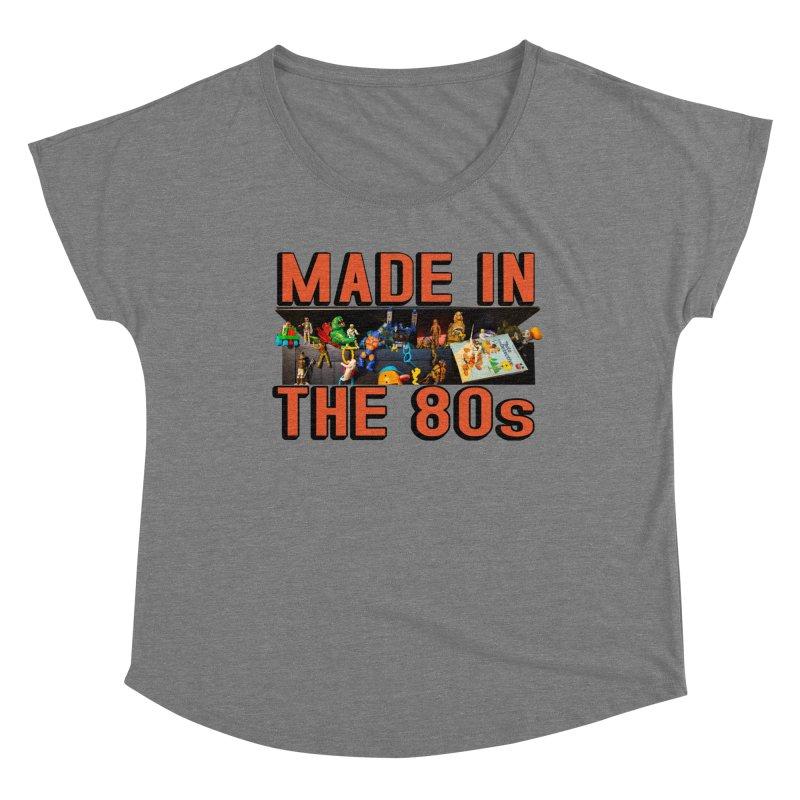 Made in the 80s! Women's Scoop Neck by HIDENbehindAroc's Shop