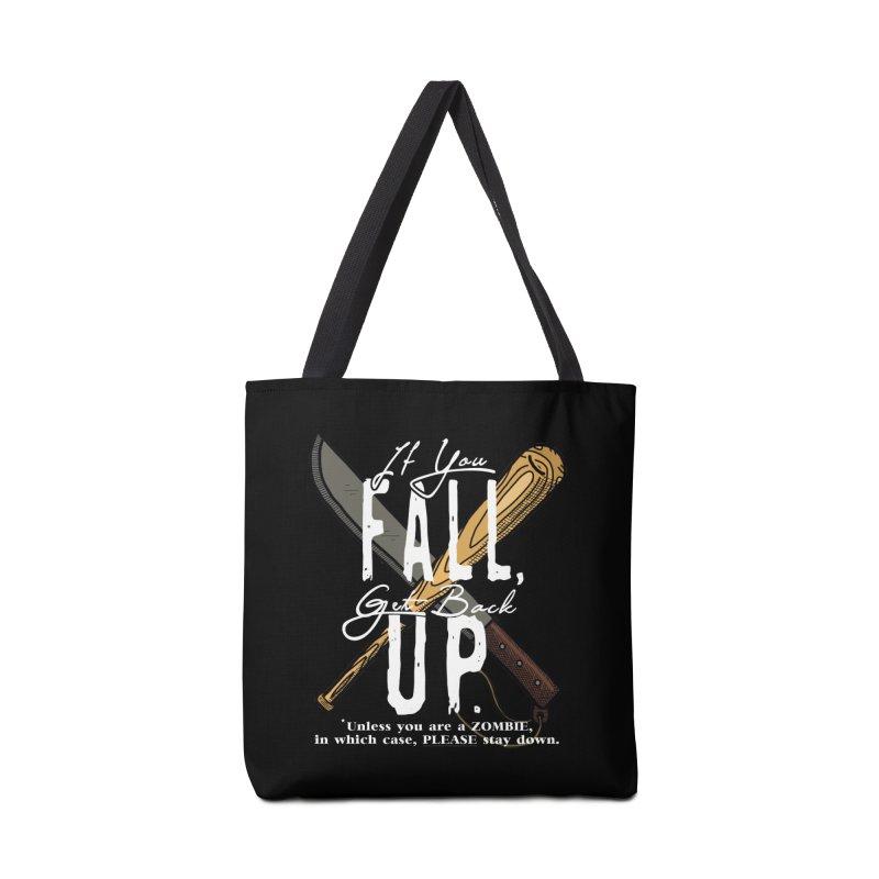 Zombie Hunter's Motto Accessories Bag by HIDENbehindAroc's Shop