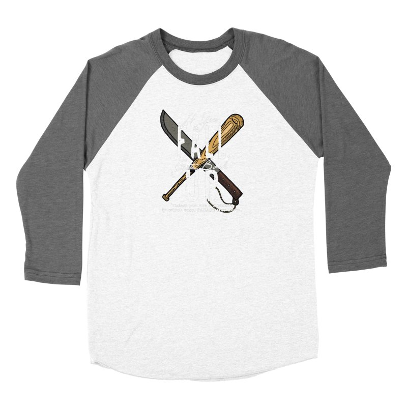 Zombie Hunter's Motto Women's Longsleeve T-Shirt by HIDENbehindAroc's Shop