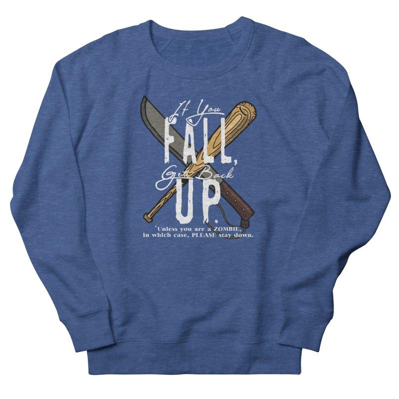 Zombie Hunter's Motto Men's Sweatshirt by HIDENbehindAroc's Shop
