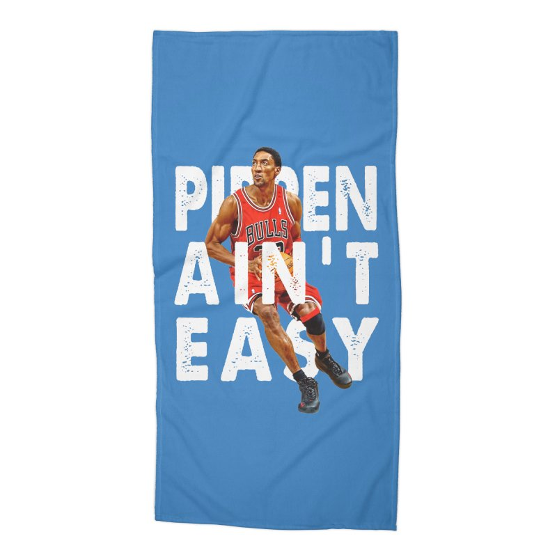 Pippen Ain't Easy Clean Accessories Beach Towel by HIDENbehindAroc's Shop