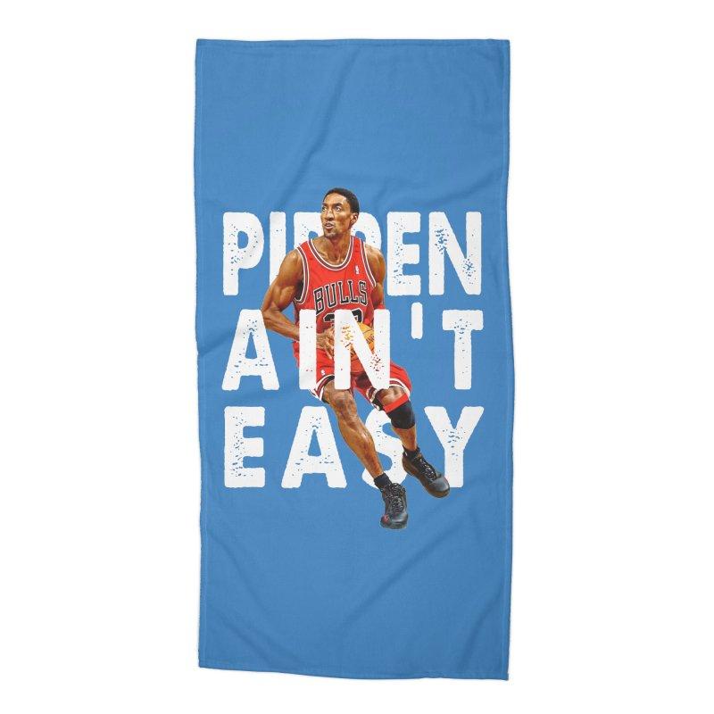 Pippen Ain't Easy Clean Accessories Beach Towel by HIDENbehindAroc's Shop