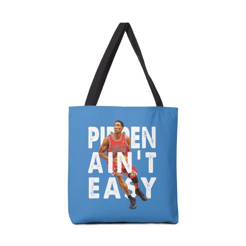 Pippen Ain't Easy Clean Accessories Tote Bag Bag by HIDENbehindAroc's Shop