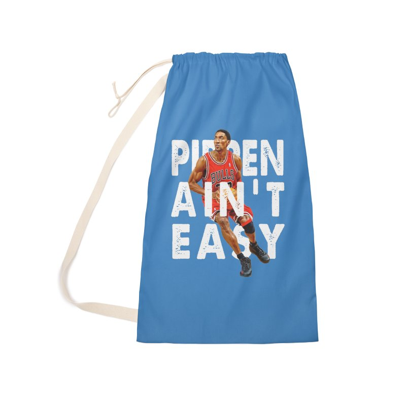 Pippen Ain't Easy Clean Accessories Laundry Bag Bag by HIDENbehindAroc's Shop