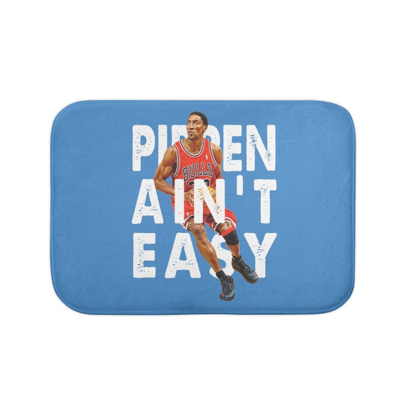 Pippen Ain't Easy Clean Home Bath Mat by HIDENbehindAroc's Shop