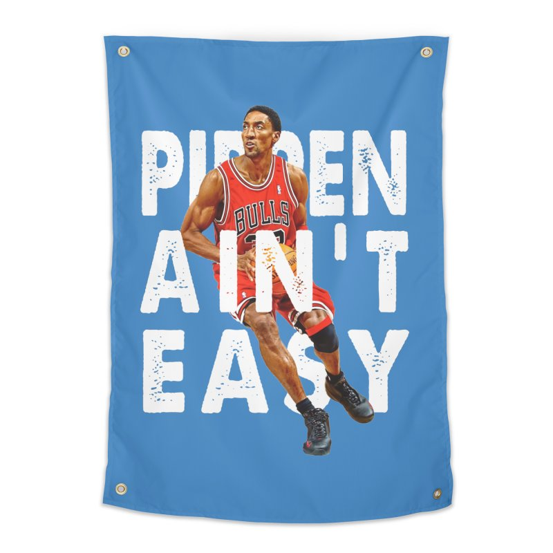 Pippen Ain't Easy Clean Home Tapestry by HIDENbehindAroc's Shop