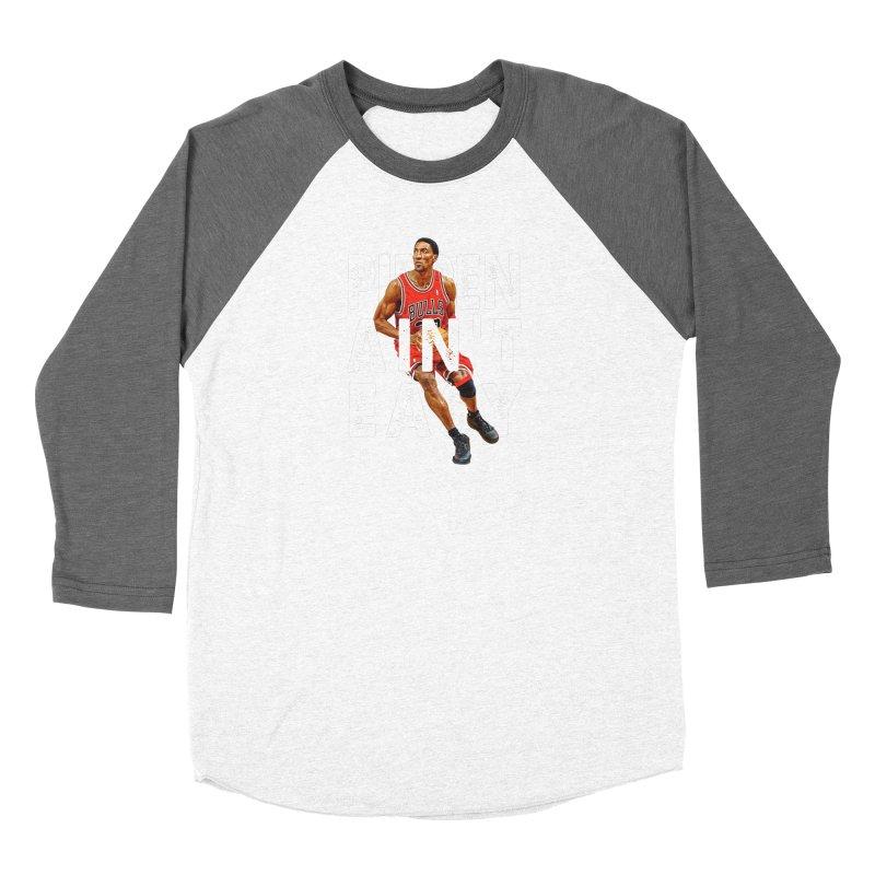 Pippen Ain't Easy Clean Women's Longsleeve T-Shirt by HIDENbehindAroc's Shop