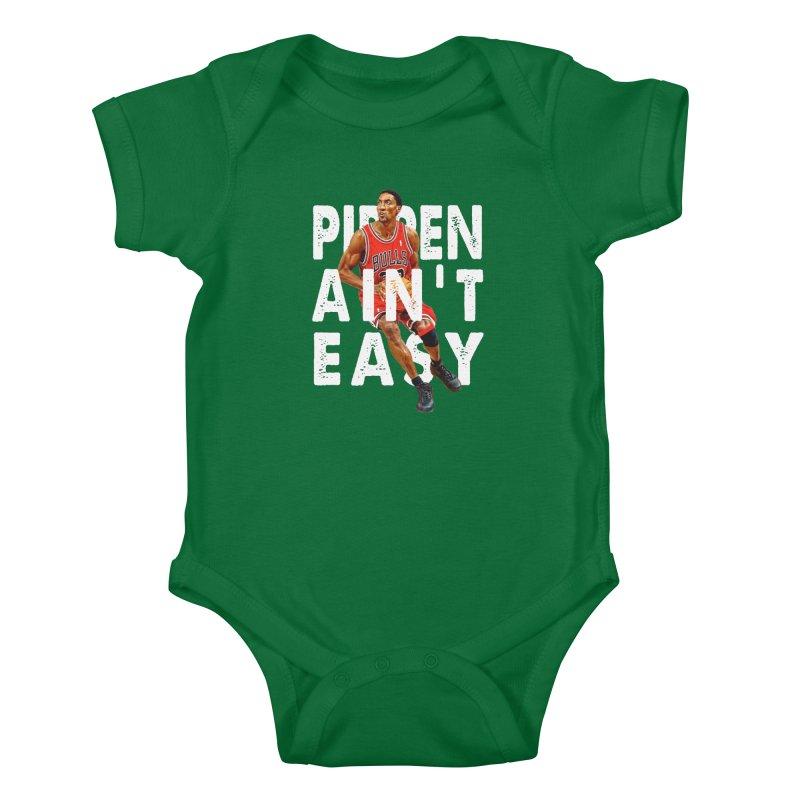 Pippen Ain't Easy Clean Kids Baby Bodysuit by HIDENbehindAroc's Shop
