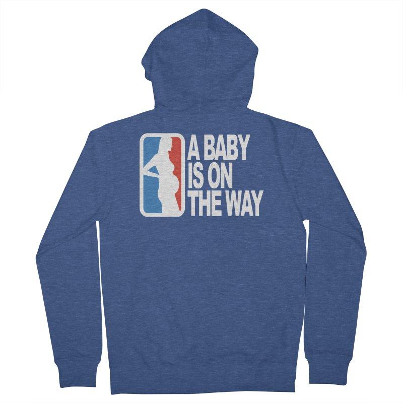 A Baby Is On The Way Men's Zip-Up Hoody by HIDENbehindAroc's Shop