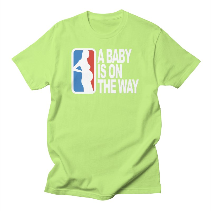 A Baby Is On The Way Men's T-Shirt by HIDENbehindAroc's Shop