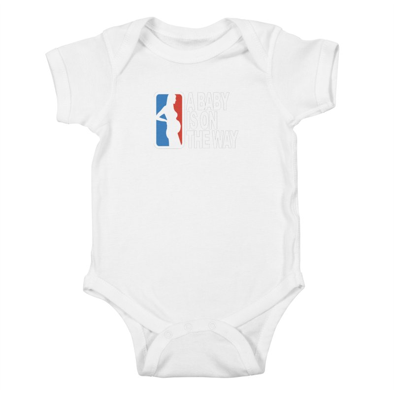 A Baby Is On The Way Kids Baby Bodysuit by HIDENbehindAroc's Shop