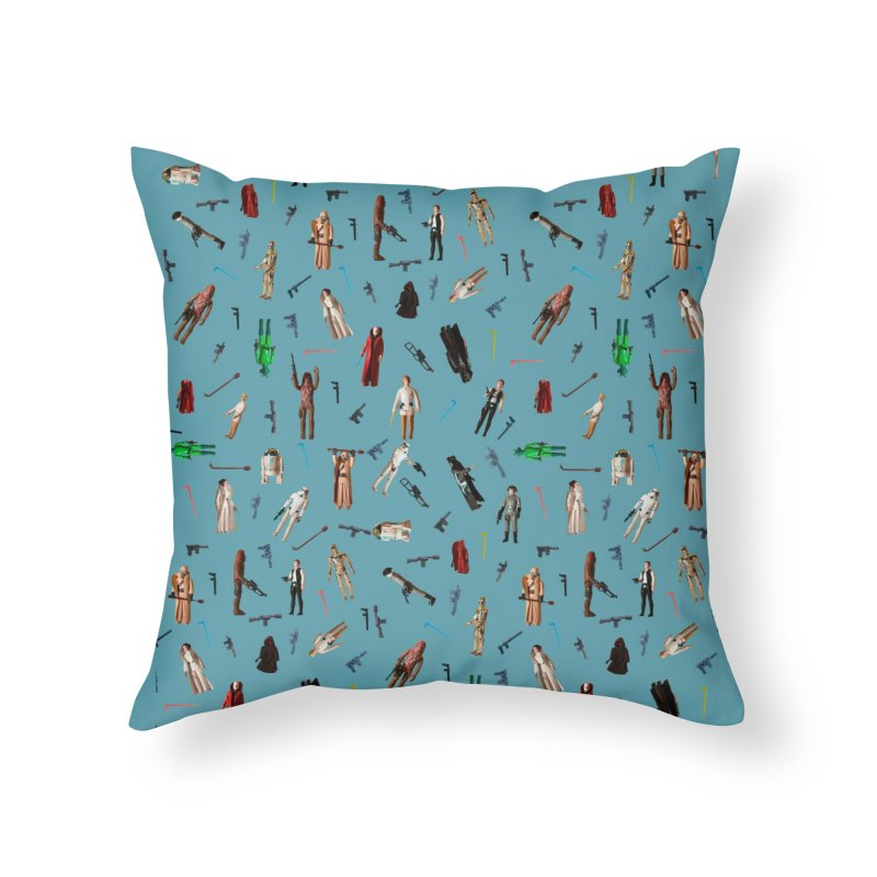 Star Wars Sheets Throwback Home Throw Pillow by HIDENbehindAroc's Shop