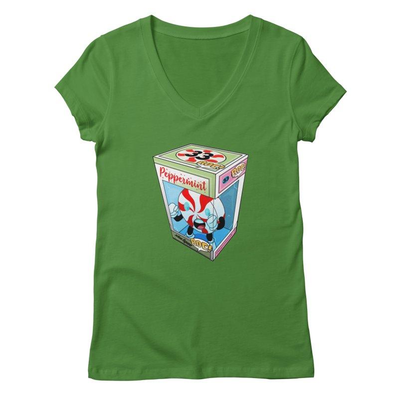 Mint In Box! Women's Regular V-Neck by HIDENbehindAroc's Shop