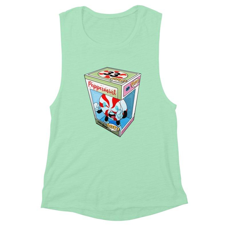 Mint In Box! Women's Muscle Tank by HIDENbehindAroc's Shop