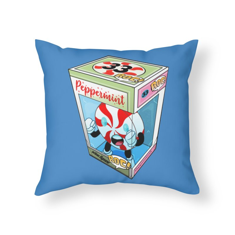 Mint In Box! Home Throw Pillow by HIDENbehindAroc's Shop