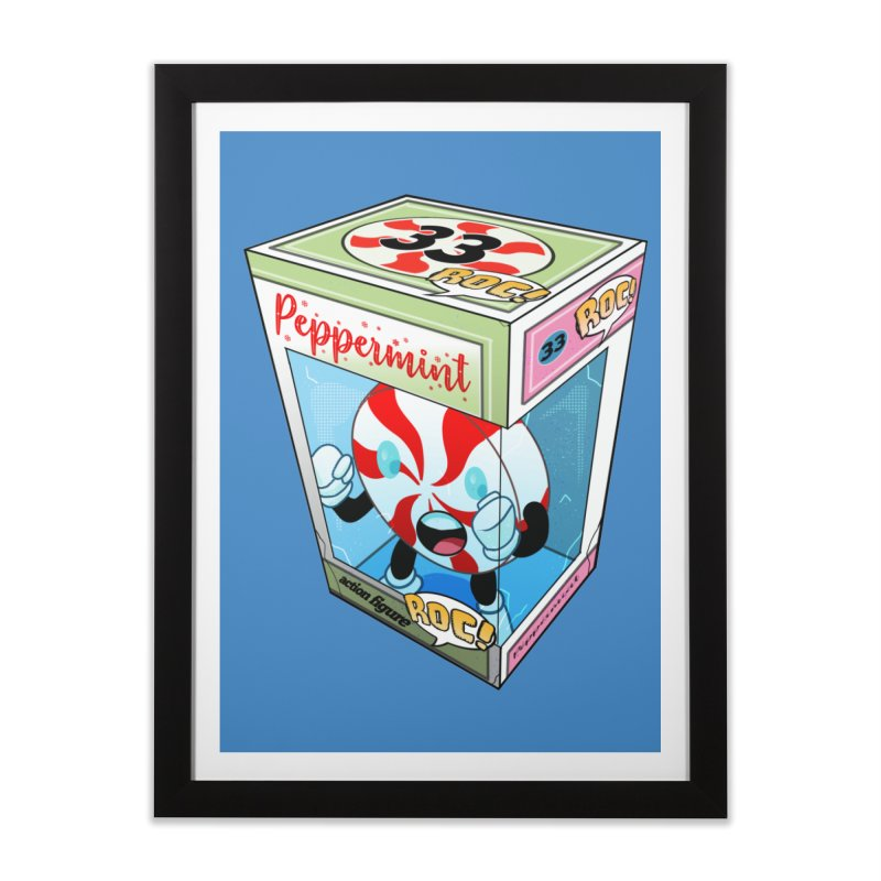 Mint In Box! Home Framed Fine Art Print by HIDENbehindAroc's Shop