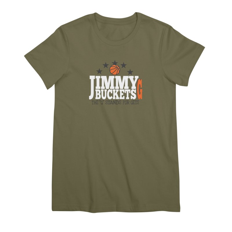 Jimmy G. Butler Women's Premium T-Shirt by HIDENbehindAroc's Shop