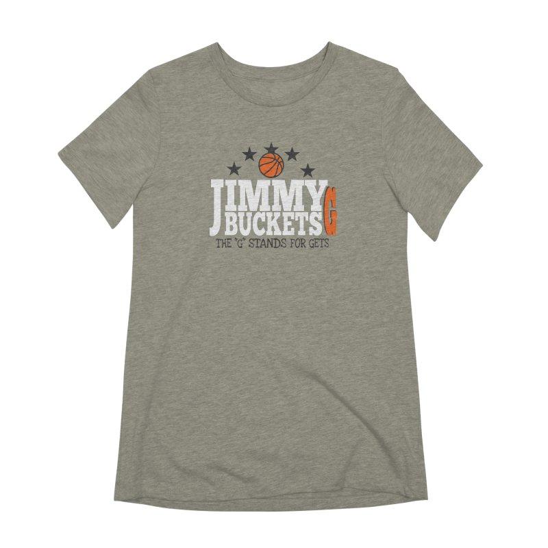 Jimmy G. Butler Women's Extra Soft T-Shirt by HIDENbehindAroc's Shop