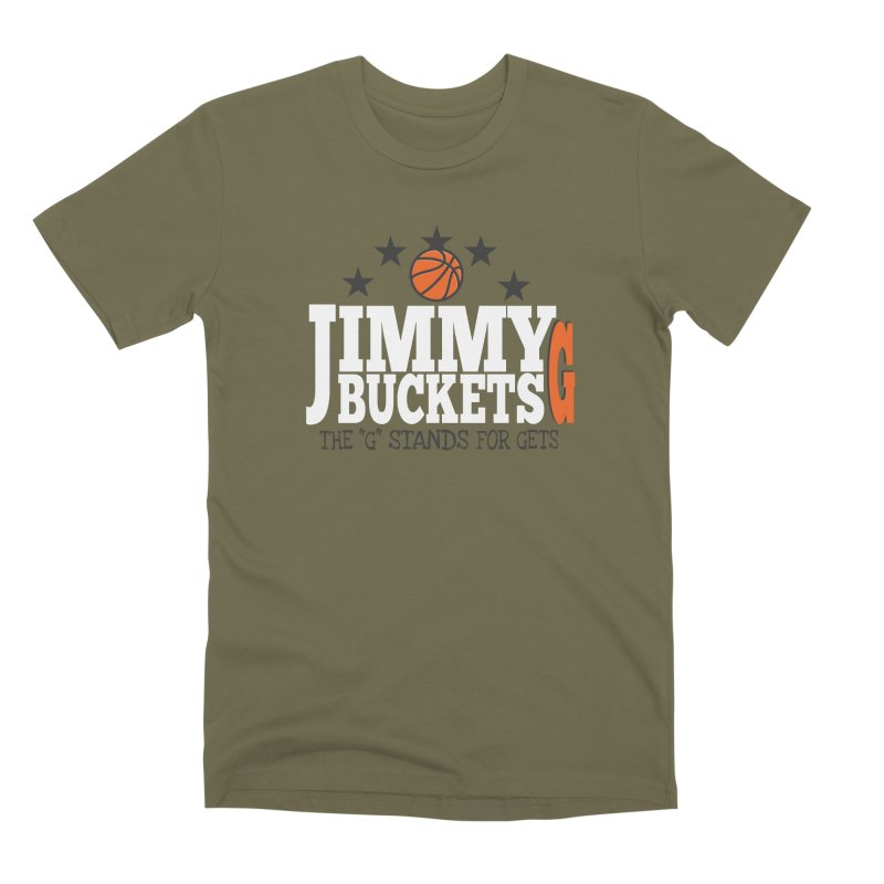 Jimmy G. Butler Men's Premium T-Shirt by HIDENbehindAroc's Shop