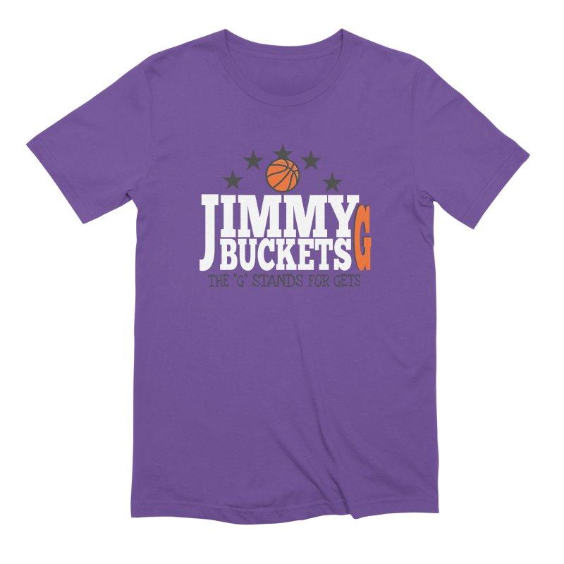 Jimmy G. Butler Men's Extra Soft T-Shirt by HIDENbehindAroc's Shop