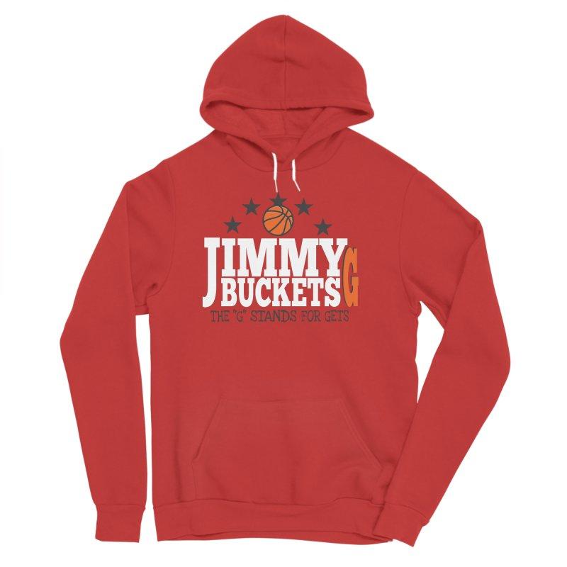 Jimmy G. Butler Women's Sponge Fleece Pullover Hoody by HIDENbehindAroc's Shop