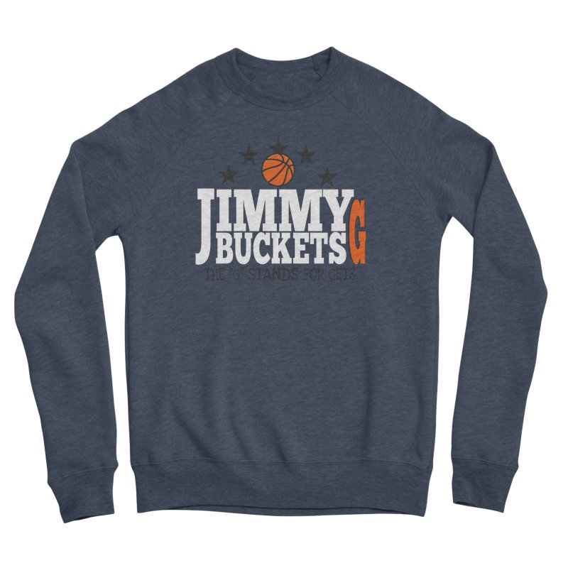 Jimmy G. Butler Women's Sponge Fleece Sweatshirt by HIDENbehindAroc's Shop