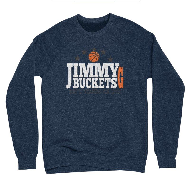 Jimmy G. Butler Men's Sponge Fleece Sweatshirt by HIDENbehindAroc's Shop
