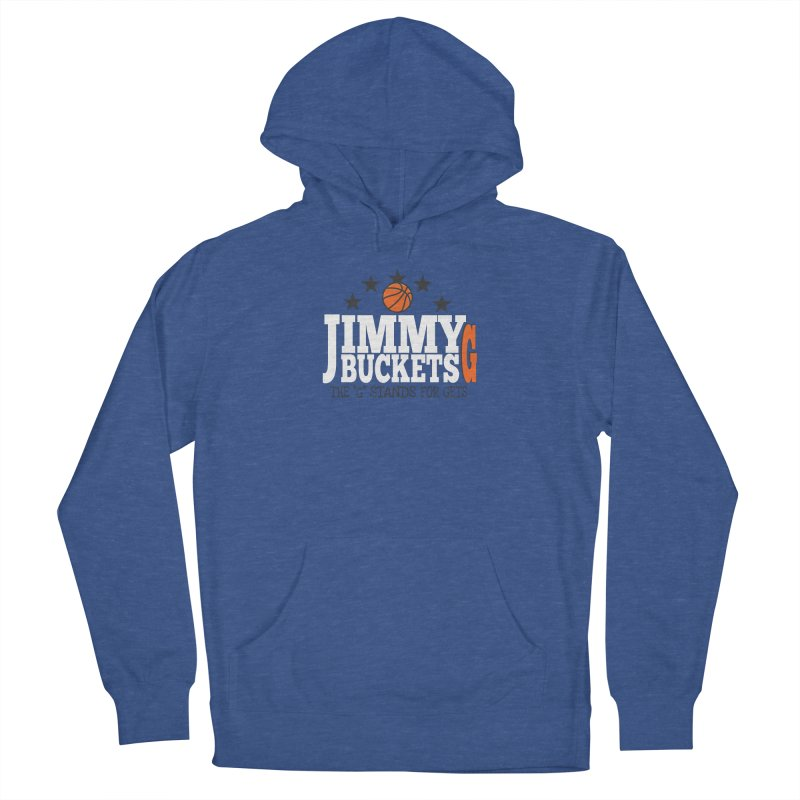 Jimmy G. Butler Men's French Terry Pullover Hoody by HIDENbehindAroc's Shop