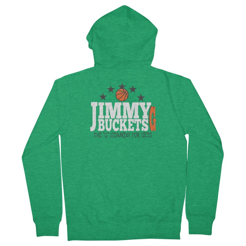 Jimmy G. Butler Women's French Terry Zip-Up Hoody by HIDENbehindAroc's Shop